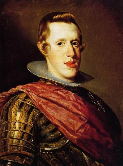 Портрет Филиппа IV в латах Веласкес