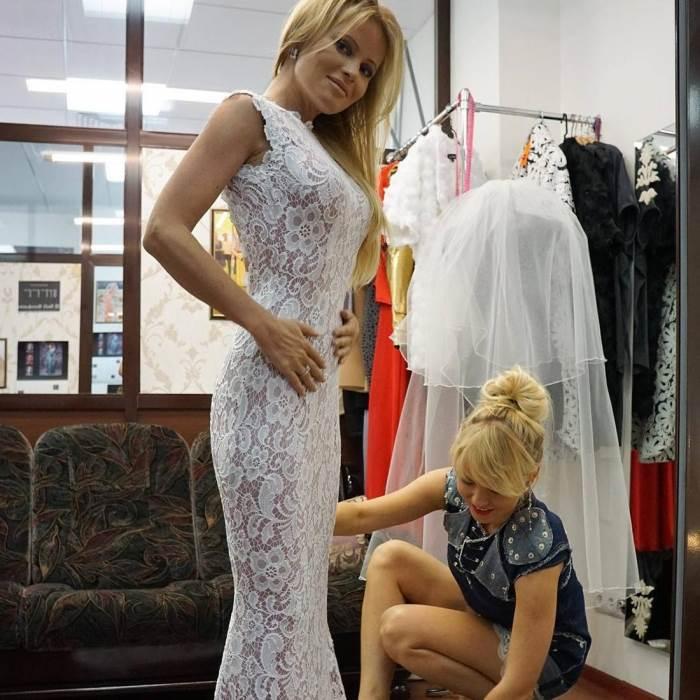 свадебное платье даны борисовой фото брелок будет очень