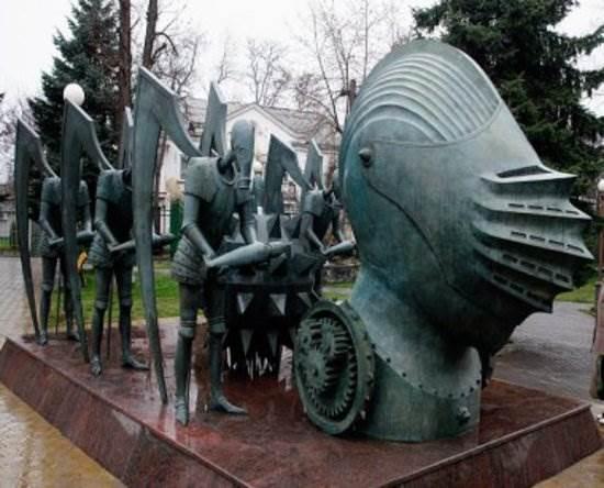 Михаил Шемякин скульптуры