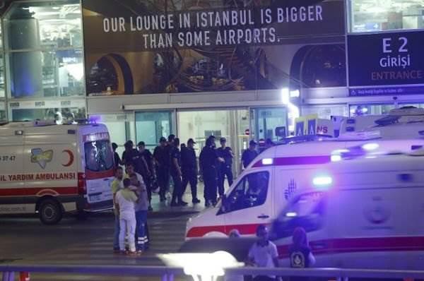 Теракт в Стамбуле 28 июня 2016 фото и видео