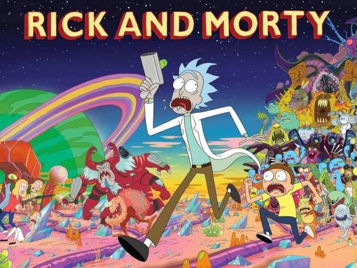 Рик и Морти постер