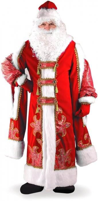 Костюм Деда Мороза фото