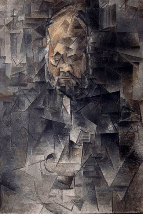 Портрет Амбруаза Воллара картина Пабло Пикассо