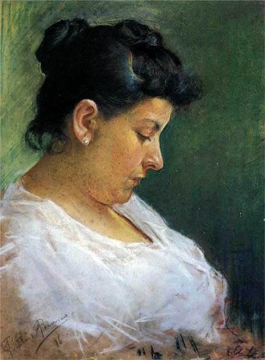 Портрет матери картина Пабло Пикассо