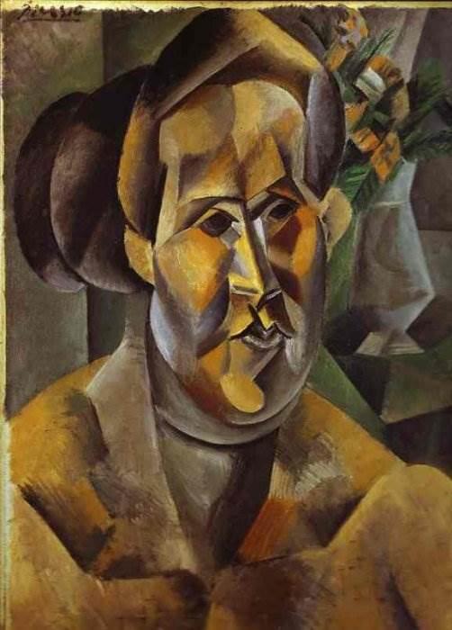 Портрет Фернанды Оливье картина Пабло Пикассо