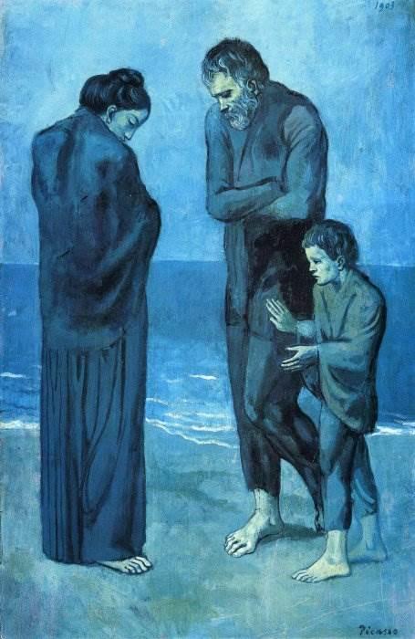 Трагедия картина Пабло Пикассо
