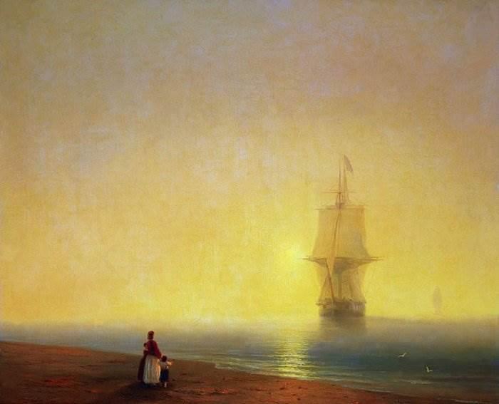 Айвазовский - Утро на море