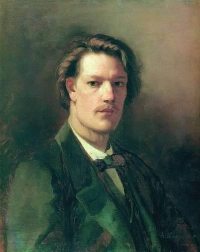 Корзухин - Портрет художника М. И. Пескова