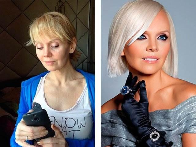 ваших артисты без макияжа фото российские уже
