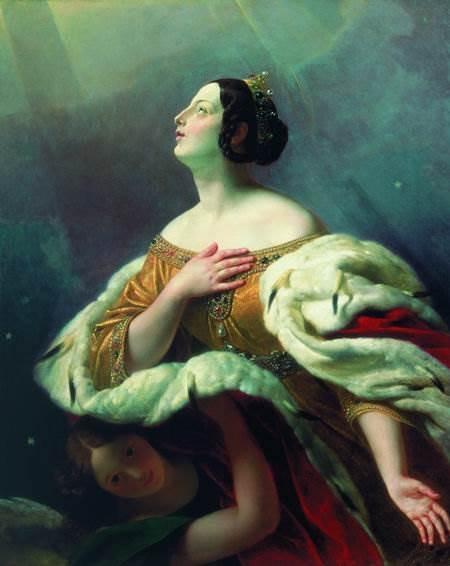 Брюллов - Святая царица Александра