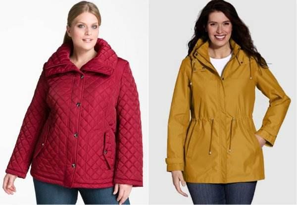короткие куртки больших размеров