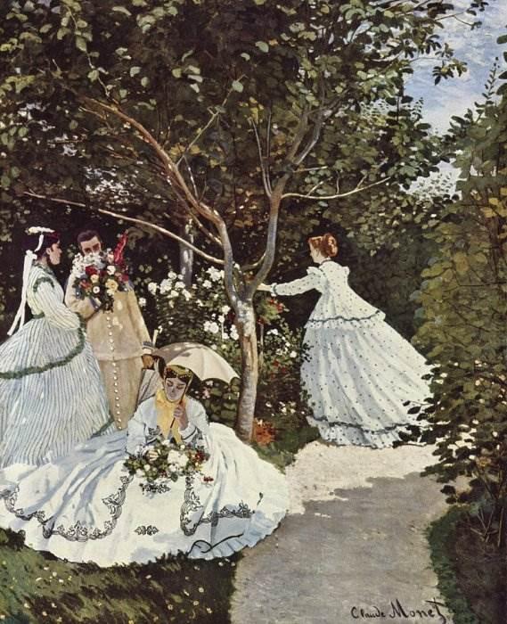 Женщины в саду - Моне