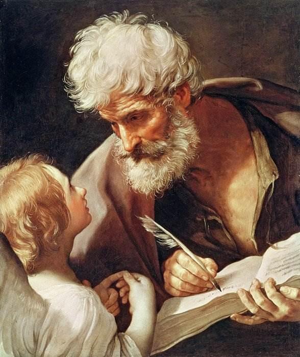 Святой Матфей и ангел - Гвидо Рени