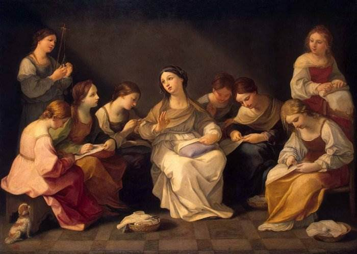 Юность Девы Марии - Гвидо Рени
