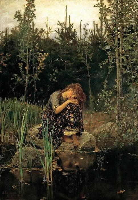 Женщина-мечта в картинах современного художника Константина Разумова | 700x485