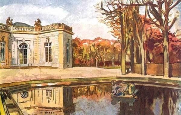 Бенуа - Версаль. Сад Трианона