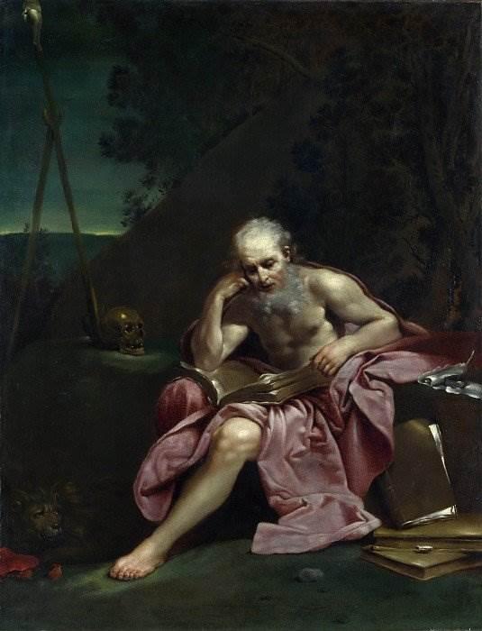 Святой Иероним в пустоши