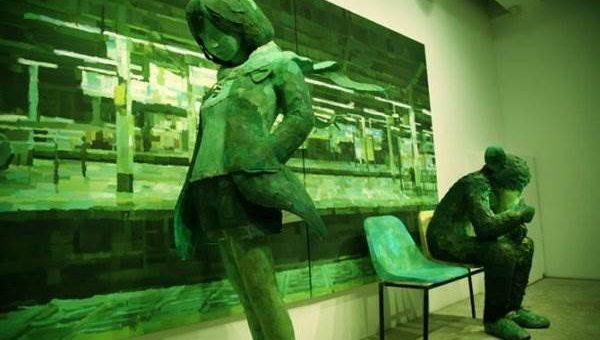 Shinitaro Ohata. Скульптура + живопись