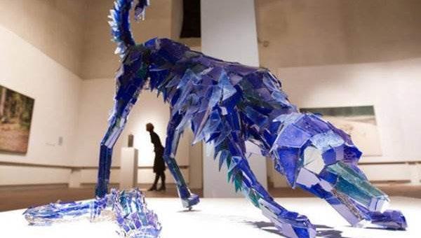 Скульптура из стекла от Marta Klonowska