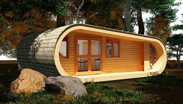 Дом Eco Perch от студии Blue Forest