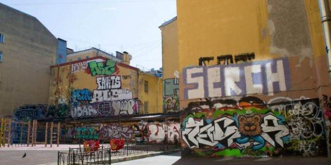 Граффити в Санкт-Петербурге (19 фото)