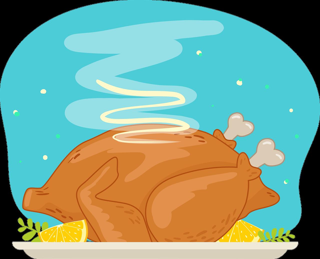 Индейка на День благодарения