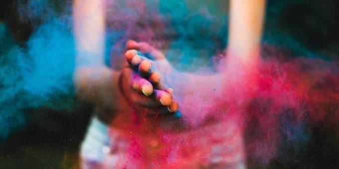 Праздник красок Холи фото