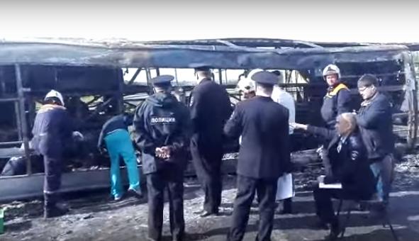 Крупное ДТП с автобусом в Татарстане