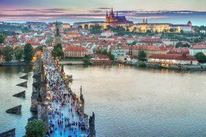 Мост в Праге фото