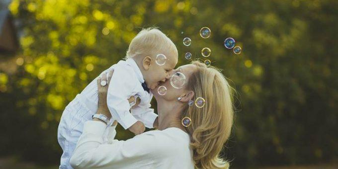 Мама с ребёнком фото