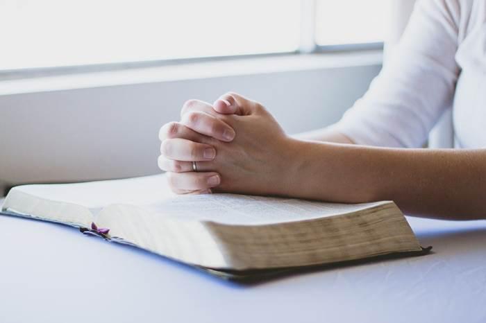 Молитва с книгой
