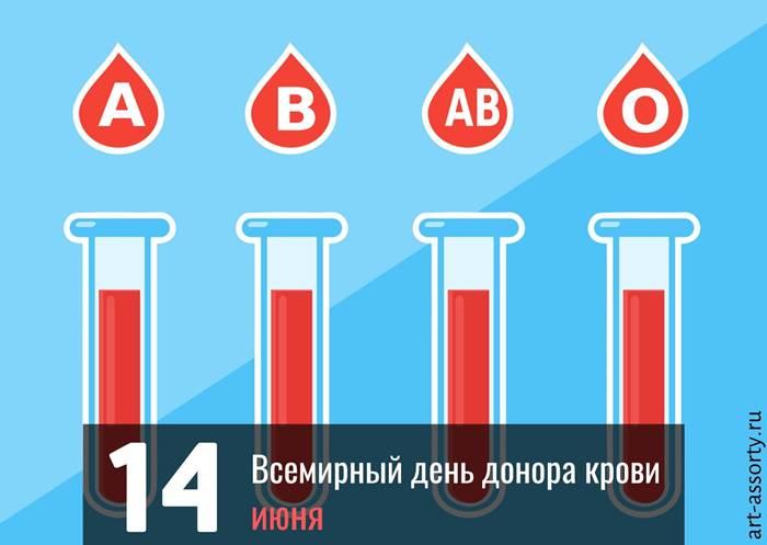 Всемирный день донора крови картинка