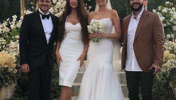 Свадьба Эмина Агаларова и Алены Гавриловой фото