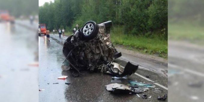 Смертельное ДТП на трассе Пермь-Березники 28.07.2018 фото