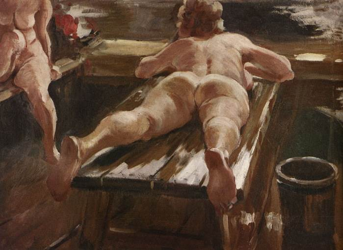 А.М. Герасимов — Русская баня