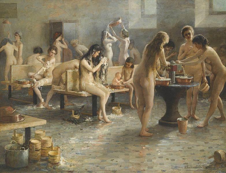 Владимир А. Плотников — В бане