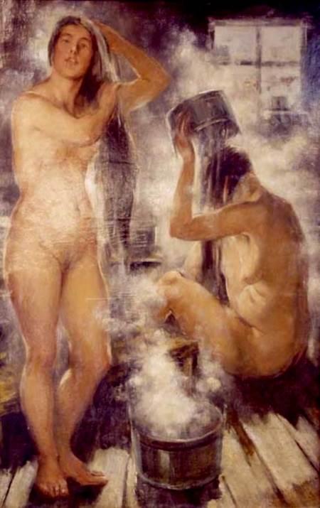 В. Тихов — В бане