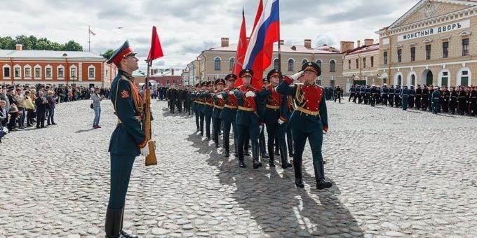 День российской гвардии в 2018 году