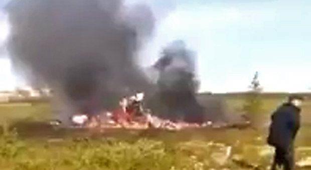 Крушение вертолёта в Красноярском крае 4 августа 2018 фото и видео