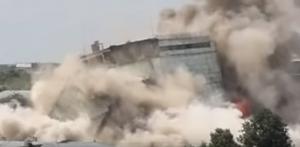 Взрыв элеватора в Иваново