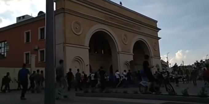 Драка таксистов-мигрантов в Москве