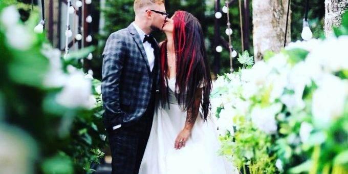 Бьянка вышла замуж фото