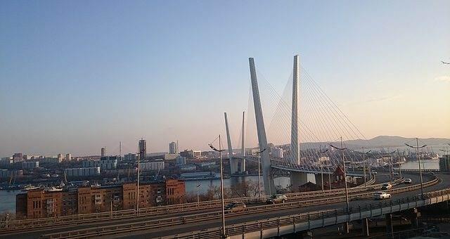 Золотой мост, Владивосток