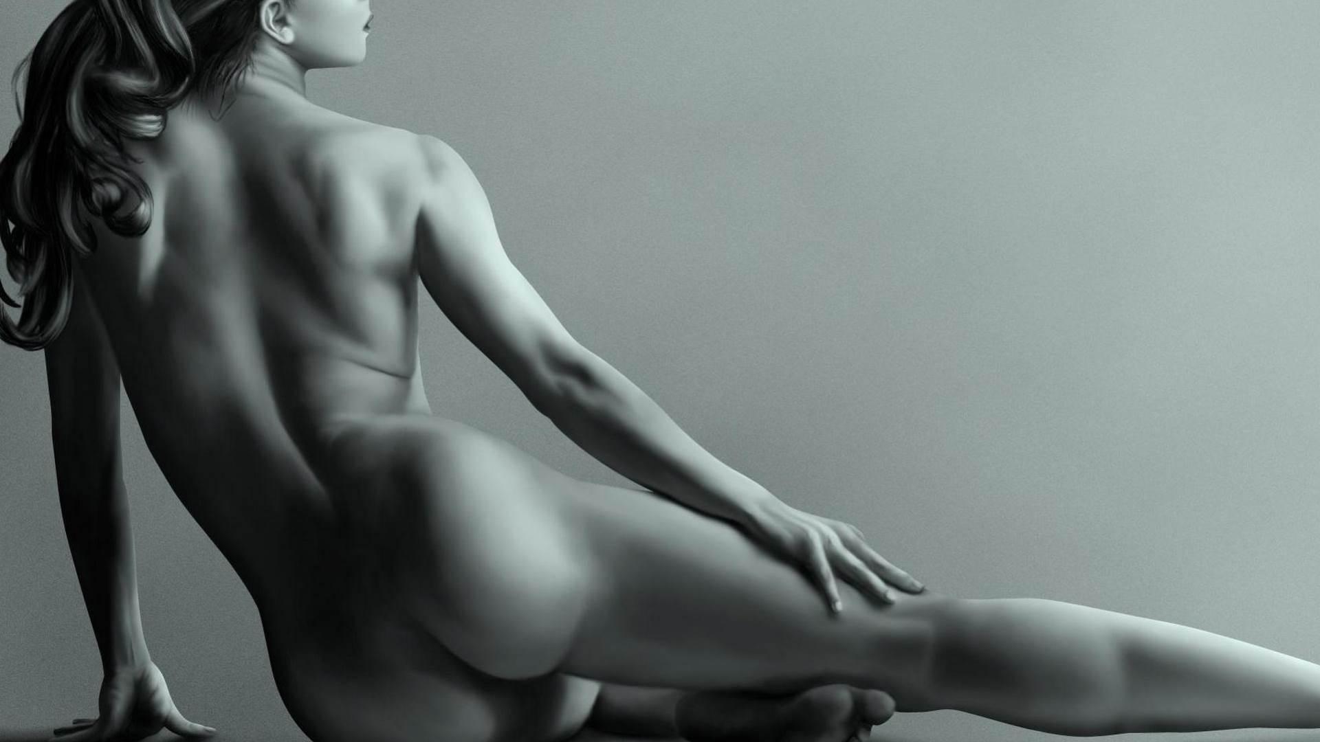 White naked female — 14