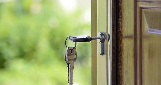 Дверь с ключом