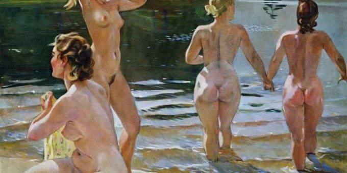 Обнажённая натура в советской живописи