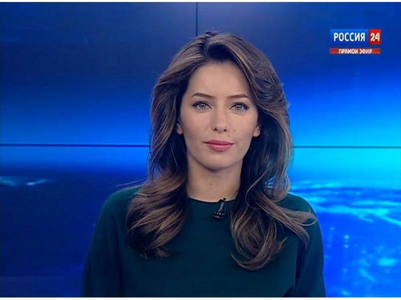 Фото телеведущих российских каналов порно девушкой аленой