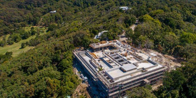 Крис Хемсворт строит огромный особняк в Австралии фото