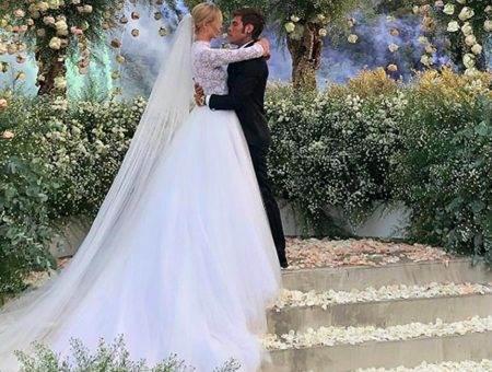 Кьяра Ферраньи свадьба фото