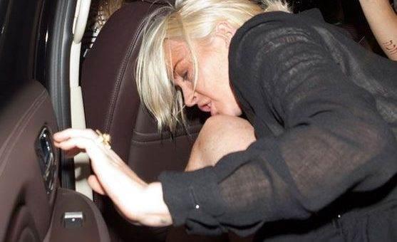 Линдси Лохан позорные фото